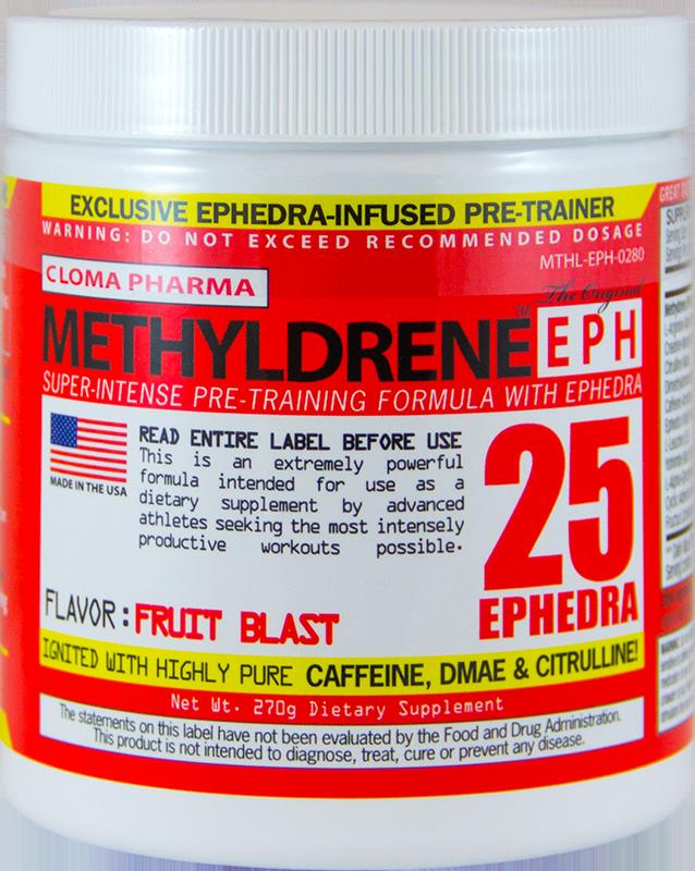 Clomapharm Methyldrene EPH 270g